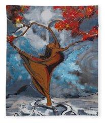 The Balancing Act Fleece Blanket