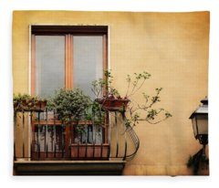 The Balcony Fleece Blanket