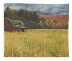 The Barn Fleece Blanket