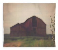 The Barn Daylight Version Fleece Blanket