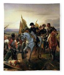 The Battle Of Friedland, 14th June 1807 Oil On Canvas Fleece Blanket