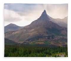 The Beartooth Mountains   Fleece Blanket