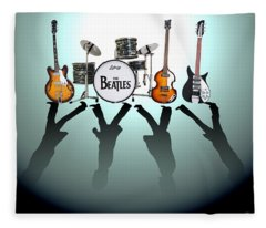The Beatles Fleece Blanket