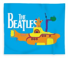 The Beatles No.11 Fleece Blanket