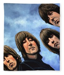 The Beatles Rubber Soul Fleece Blanket