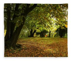 The Beauty Of Autumn Fleece Blanket