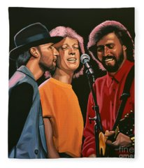 The Bee Gees Fleece Blanket