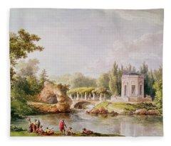 The Belvedere, Petit Trianon Wc Fleece Blanket