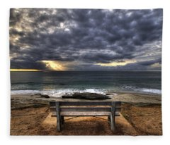 The Bench Fleece Blanket