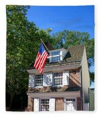 The Betsy Ross House Fleece Blanket