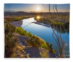 The Big Bend Fleece Blanket