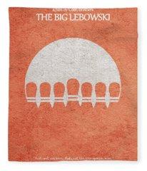 The Big Lebowski Fleece Blanket