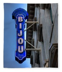 The Bijou Theatre - Knoxville Tennessee Fleece Blanket