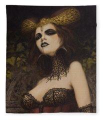 The Blood Countess Fleece Blanket