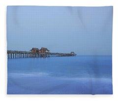 The Blue Hour Fleece Blanket