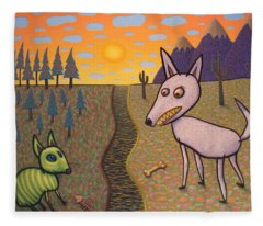 The Border Fleece Blanket