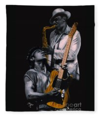 Bruce And Clarence Fleece Blanket