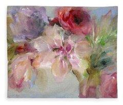 The Bouquet Fleece Blanket