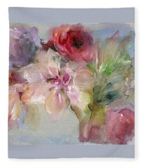 The Bouquet Fleece Blanket