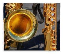 The Brass Section Fleece Blanket