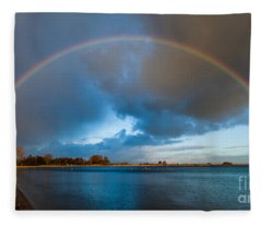 The Bridge Across Forever Fleece Blanket