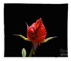 The Bud Fleece Blanket