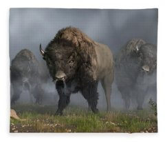 The Buffalo Vanguard Fleece Blanket