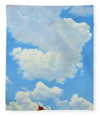 The Cardinal Fleece Blanket