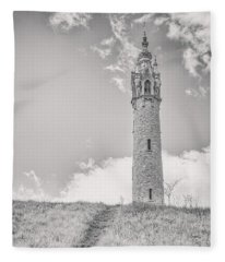 The Castle Tower Fleece Blanket