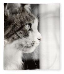 The Cat's Meow Fleece Blanket