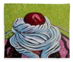 The Cherry On Top Fleece Blanket