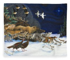 The Christmas Star Fleece Blanket