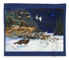 The Christmas Star Fleece Blanket