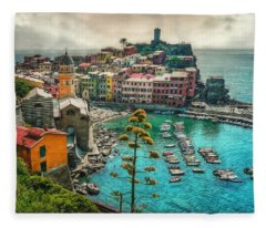 The Colors Of Italy Fleece Blanket