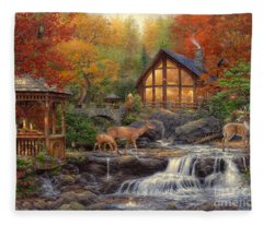 Fantasy Art Fleece Blankets