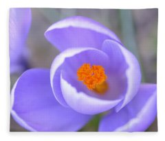 The Colors Of Spring Fleece Blanket