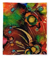 The Colours Of My Mind.. Fleece Blanket