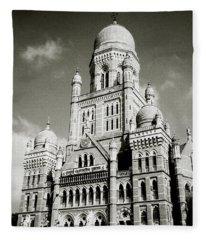 The Corporation Building Bombay Fleece Blanket