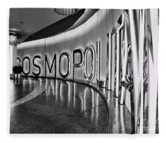 The Cosmopolitan Hotel Las Vegas By Diana Sainz Fleece Blanket