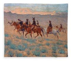 The Cowpunchers Fleece Blanket