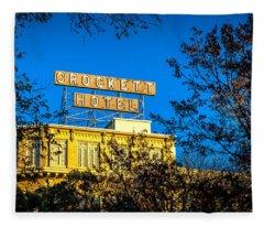 The Crockett Hotel Fleece Blanket