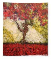 The Dancer Series 7 Fleece Blanket