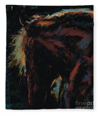 The Dark Horse Fleece Blanket