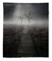 The Dark Land Fleece Blanket