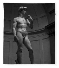 The David Fleece Blanket