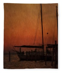 The Day Is Done Fleece Blanket
