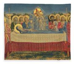 The Death Of The Virgin Fleece Blanket