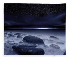 The Depths Of Forever Fleece Blanket