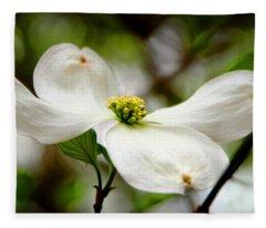 The Dogwood Fleece Blanket