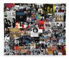 The Doors Collage Fleece Blanket